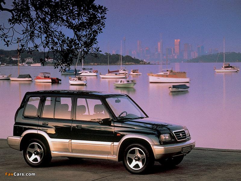 Images of Suzuki Vitara 5-door 1991–98 (800 x 600)