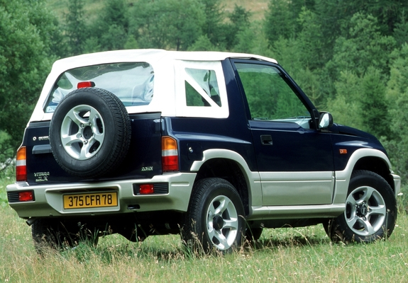 Photos Of Suzuki Vitara Canvas Top 1989 98