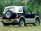 Photos of Suzuki Vitara Canvas Top 1989–98