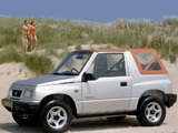Suzuki Vitara Canvas Top UK-spec 1989–98 images