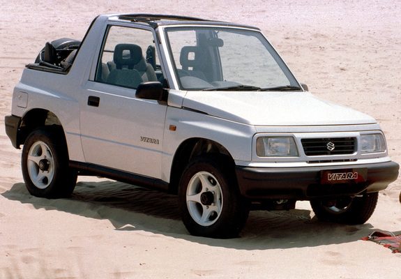 Suzuki Vitara Canvas Top Uk Spec 1989 98 Wallpapers