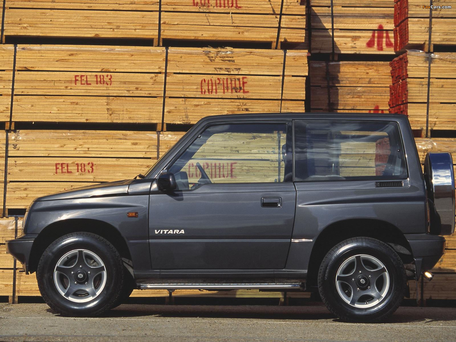 Suzuki Vitara 3-door UK-spec 1989–98 wallpapers (1600 x 1200)