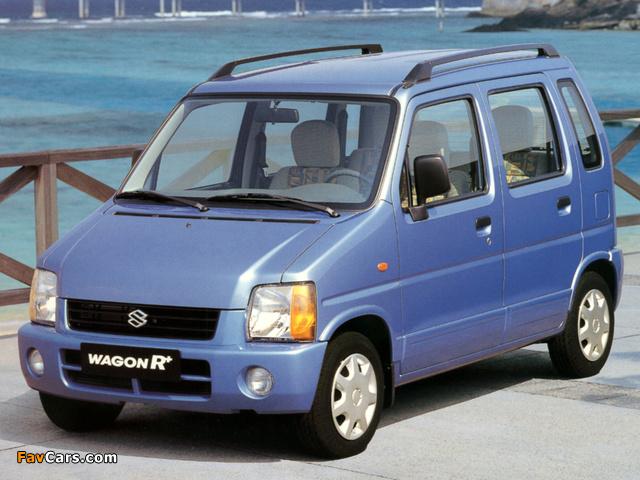 Images of Suzuki Wagon R+ (EM) 1997–2000 (640 x 480)