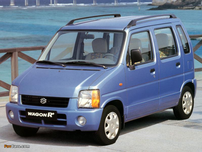 Images of Suzuki Wagon R+ (EM) 1997–2000 (800 x 600)