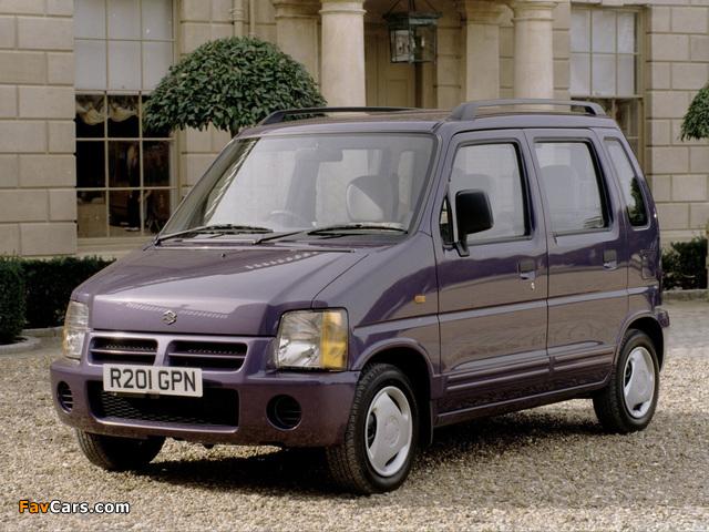 Pictures of Suzuki Wagon R+ UK-spec (EM) 1997–2000 (640 x 480)