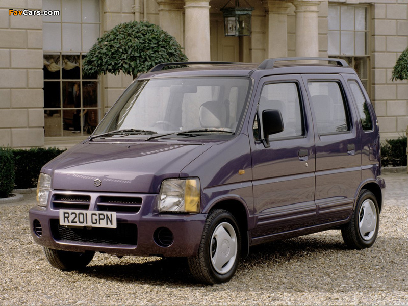 Pictures of Suzuki Wagon R+ UK-spec (EM) 1997–2000 (800 x 600)