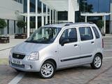 Pictures of Suzuki Wagon R+ UK-spec (MM) 2000–03