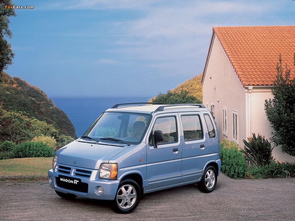 Suzuki Wagon R+ (EM) 1997–2000 images (1024 x 768)