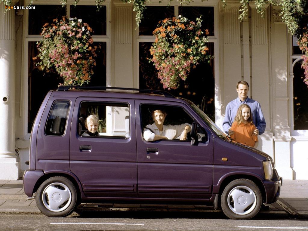 Suzuki Wagon R+ UK-spec (EM) 1997–2000 photos (1024 x 768)