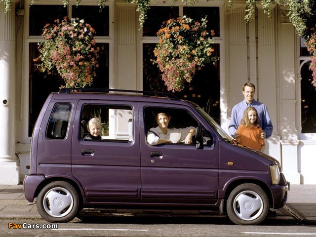 Suzuki Wagon R+ UK-spec (EM) 1997–2000 photos (640 x 480)