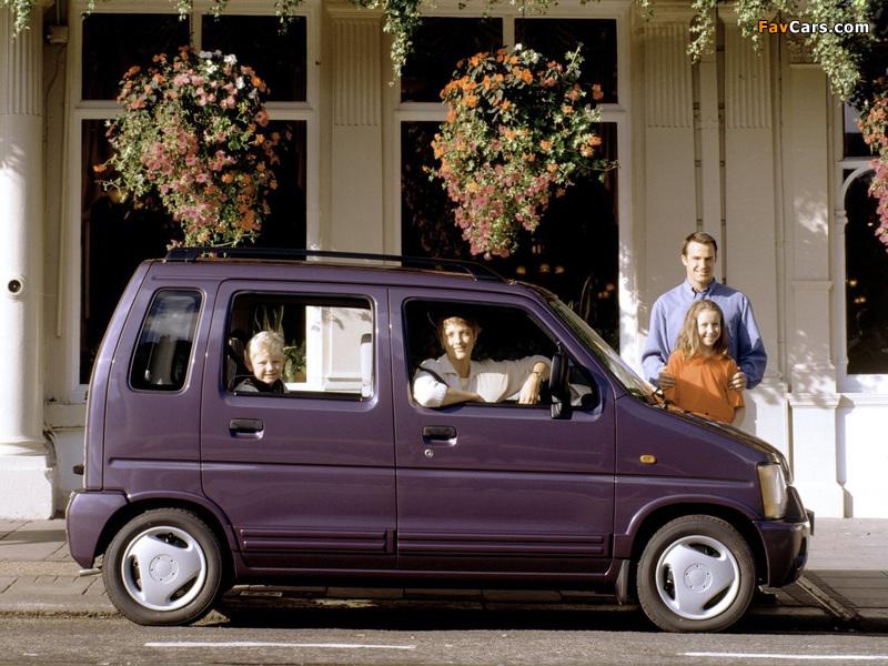 Suzuki Wagon R+ UK-spec (EM) 1997–2000 photos (800 x 600)