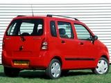 Suzuki Wagon R+ (MM) 2000–03 photos