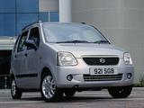 Suzuki Wagon R+ UK-spec (MM) 2000–03 pictures
