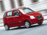 Suzuki Wagon R+ UK-spec (MM) 2000–03 wallpapers