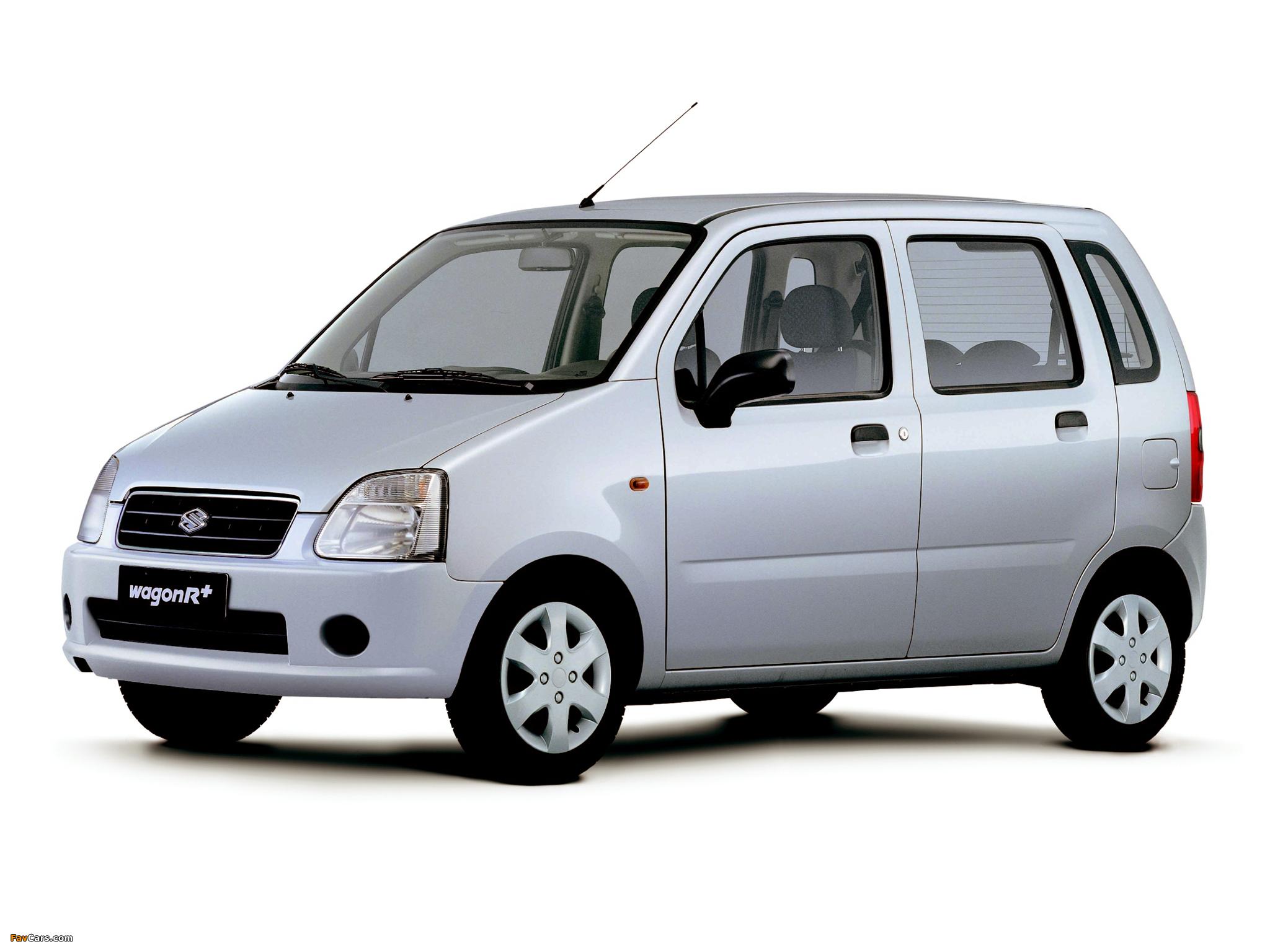 Suzuki Wagon R+ (MM) 2003–06 images (2048 x 1536)