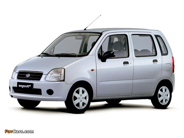 Suzuki Wagon R+ (MM) 2003–06 images (640 x 480)