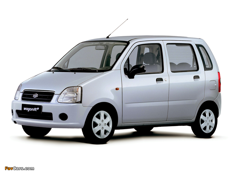 Suzuki Wagon R+ (MM) 2003–06 images (800 x 600)