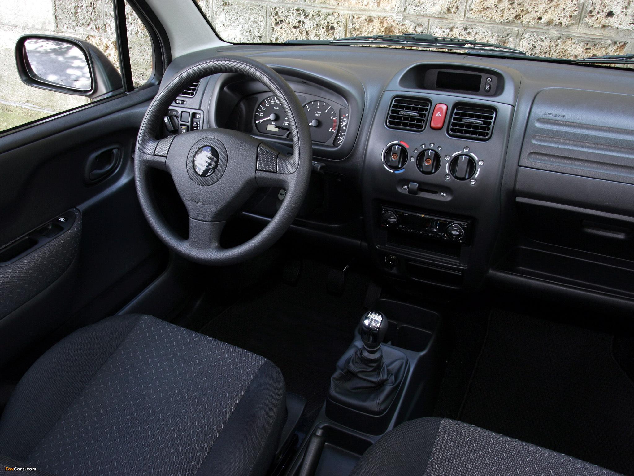 Suzuki Wagon R+ (MM) 2003–06 pictures (2048 x 1536)