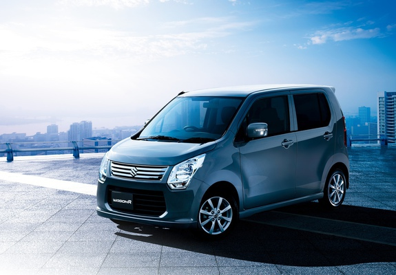 Suzuki Wagon R Fx Limited Mh34s 2012 Wallpapers