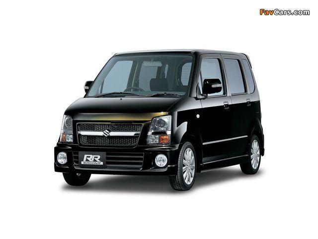 Suzuki Wagon R RR-DI (MH22S) 2007–08 photos (640 x 480)
