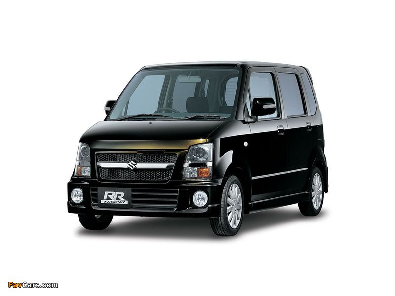 Suzuki Wagon R RR-DI (MH22S) 2007–08 photos (800 x 600)