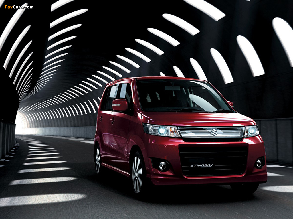 Suzuki Wagon R Stingray Mh23s 2008 Wallpapers
