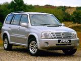 Suzuki Grand Vitara XL7 UK-spec 2003–06 wallpapers