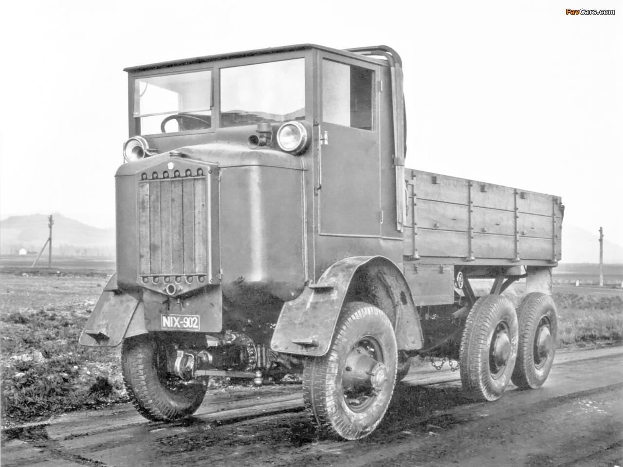 Tatra T25 6x6 Tractor Prototype 1926 photos (1280x960)