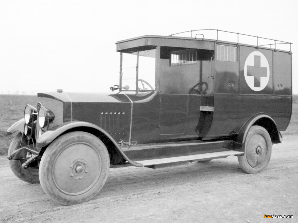 Tatra T20 Ambulance 1923–25 photos (1024 x 768)