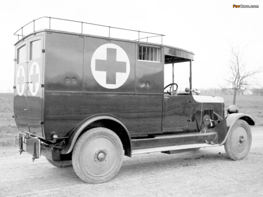 Tatra T20 Ambulance 1923–25 pictures (1024 x 768)