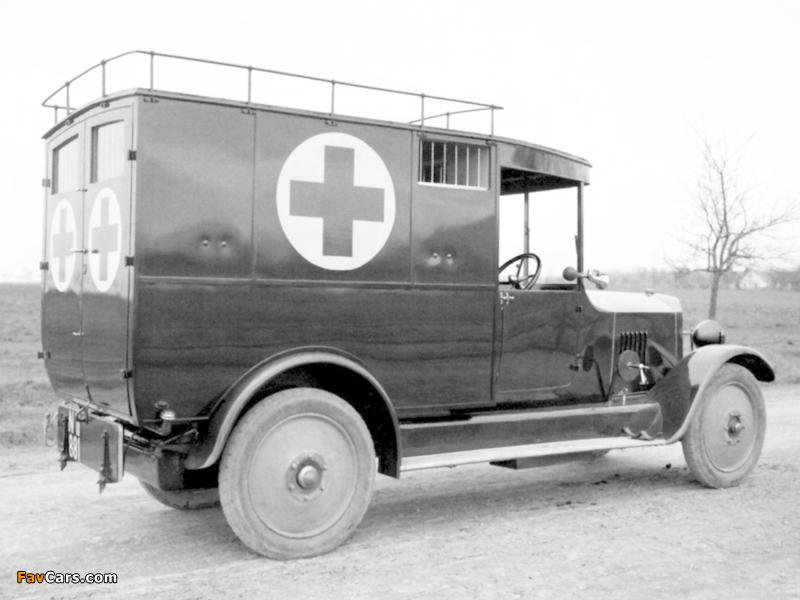 Tatra T20 Ambulance 1923–25 pictures (800 x 600)