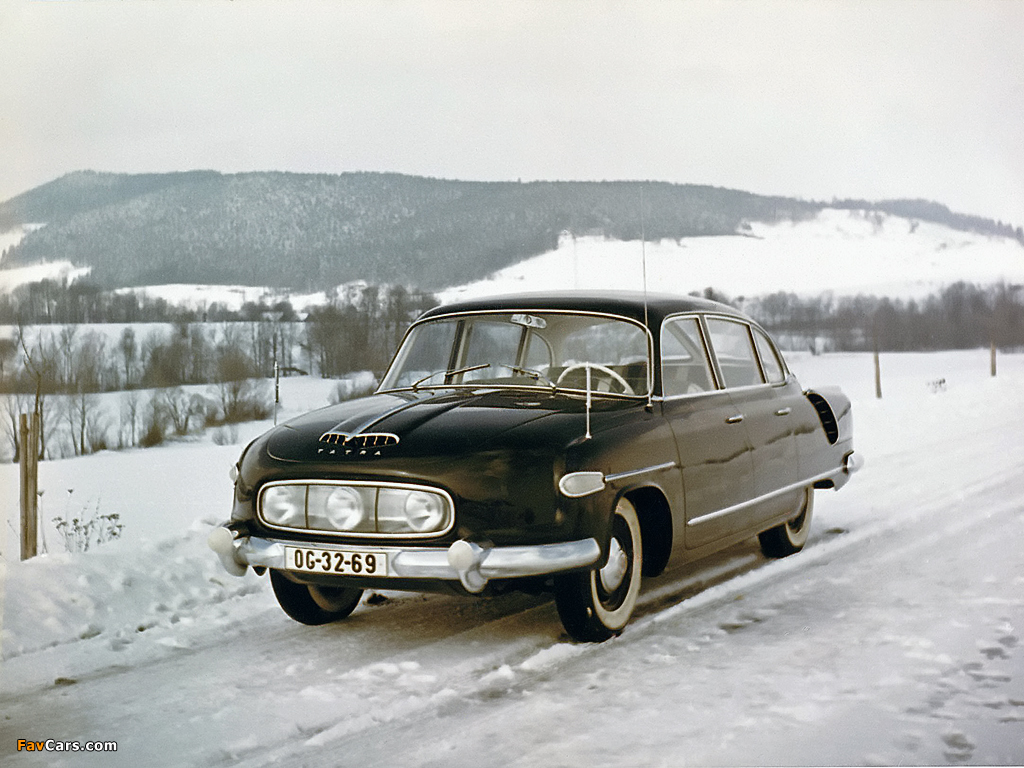 Tatra T603 1956–62 photos (1024 x 768)