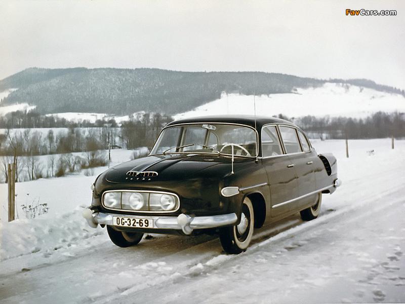 Tatra T603 1956–62 photos (800 x 600)