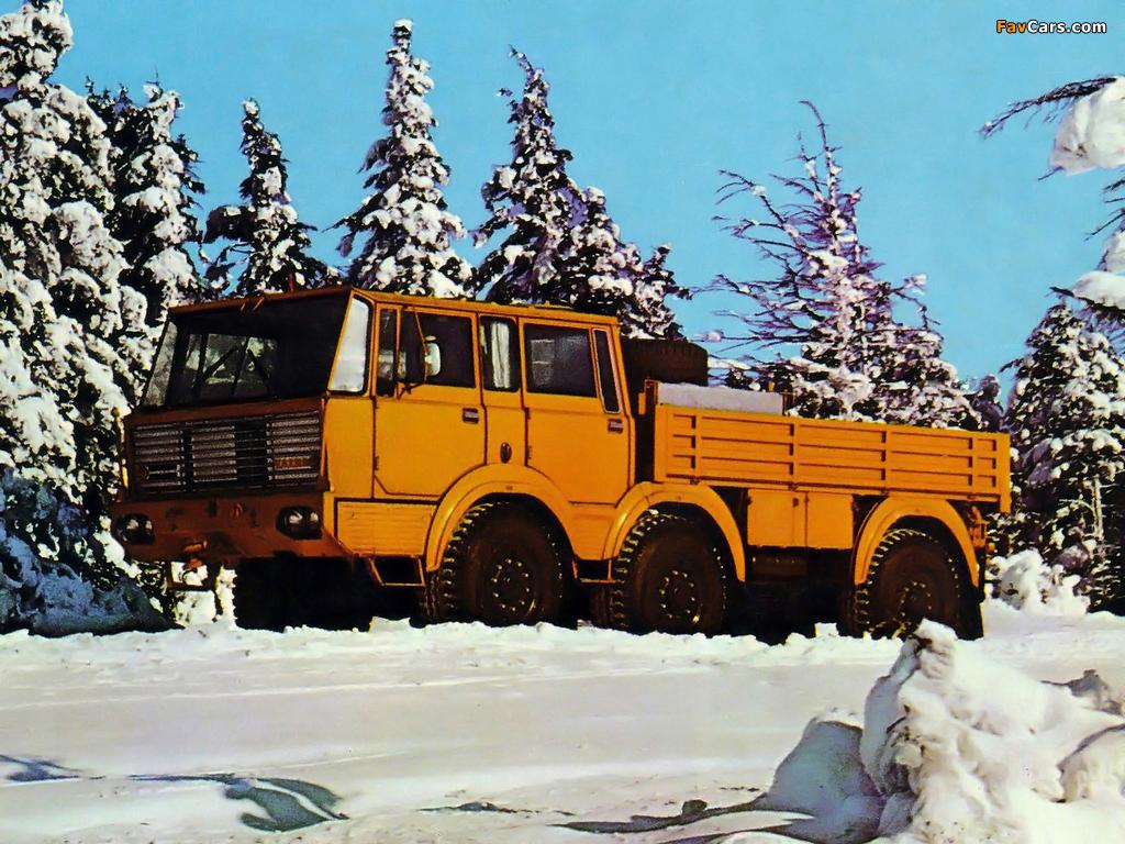 Photos of Tatra T813 TP 6x6 1967–82 (1024x768)