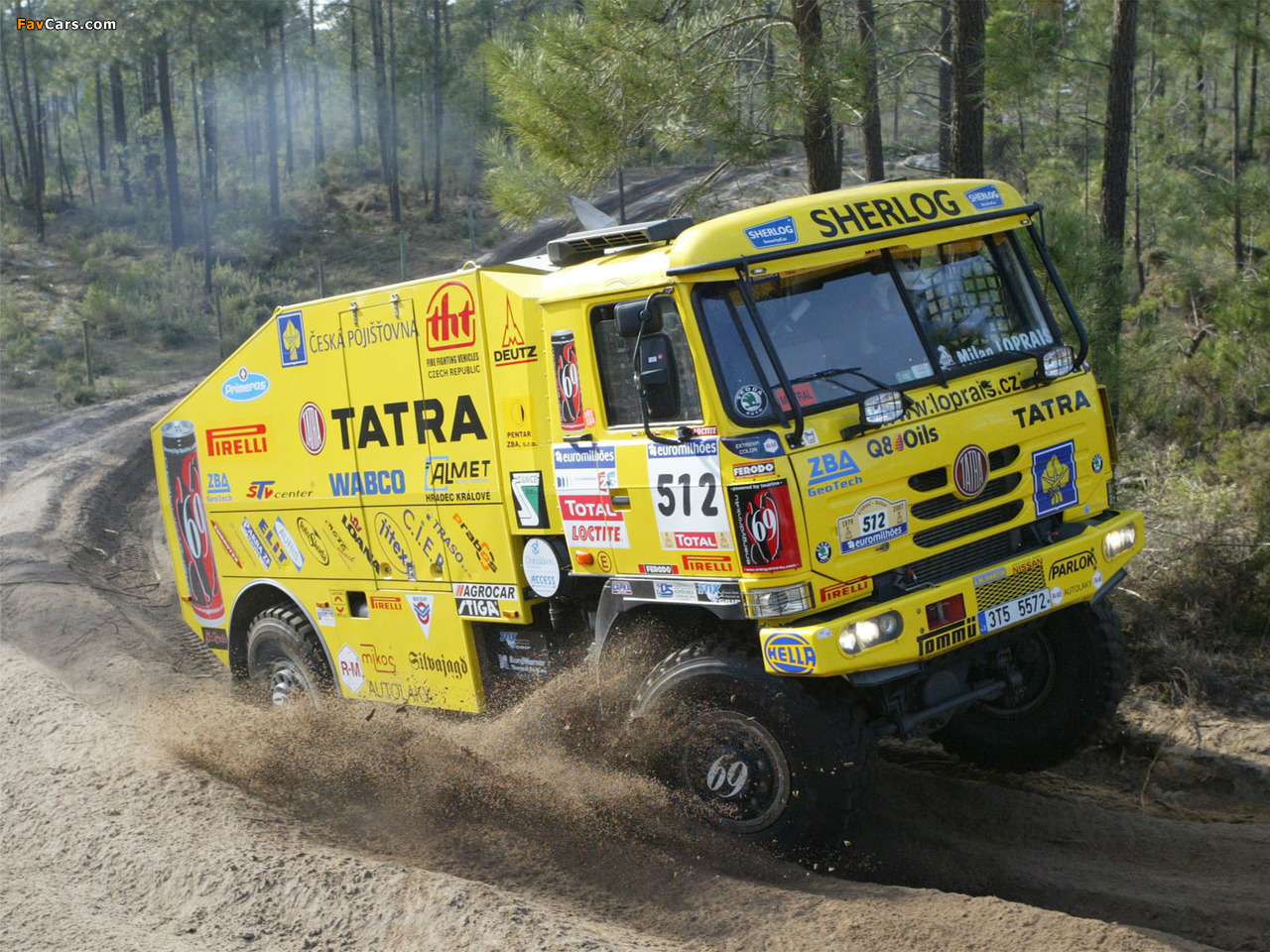 Images of Tatra T815 4x4 Rally Truck 2006–07 (1280 x 960)
