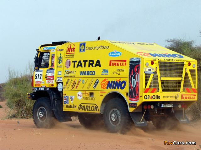 Images of Tatra T815 4x4 Rally Truck 2006–07 (640 x 480)