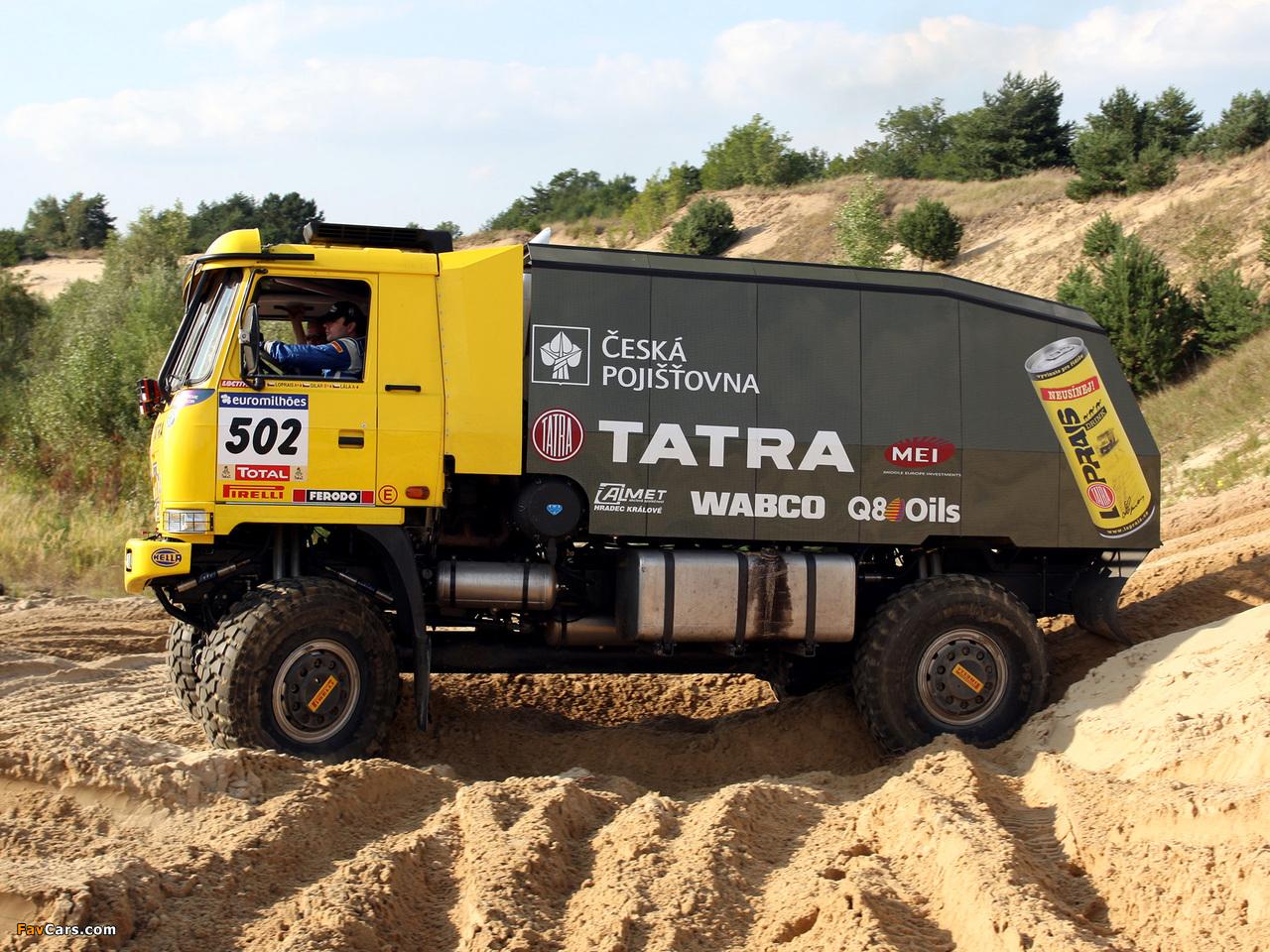 Images of Tatra T815 4x4 Rally Truck 2007–08 (1280 x 960)