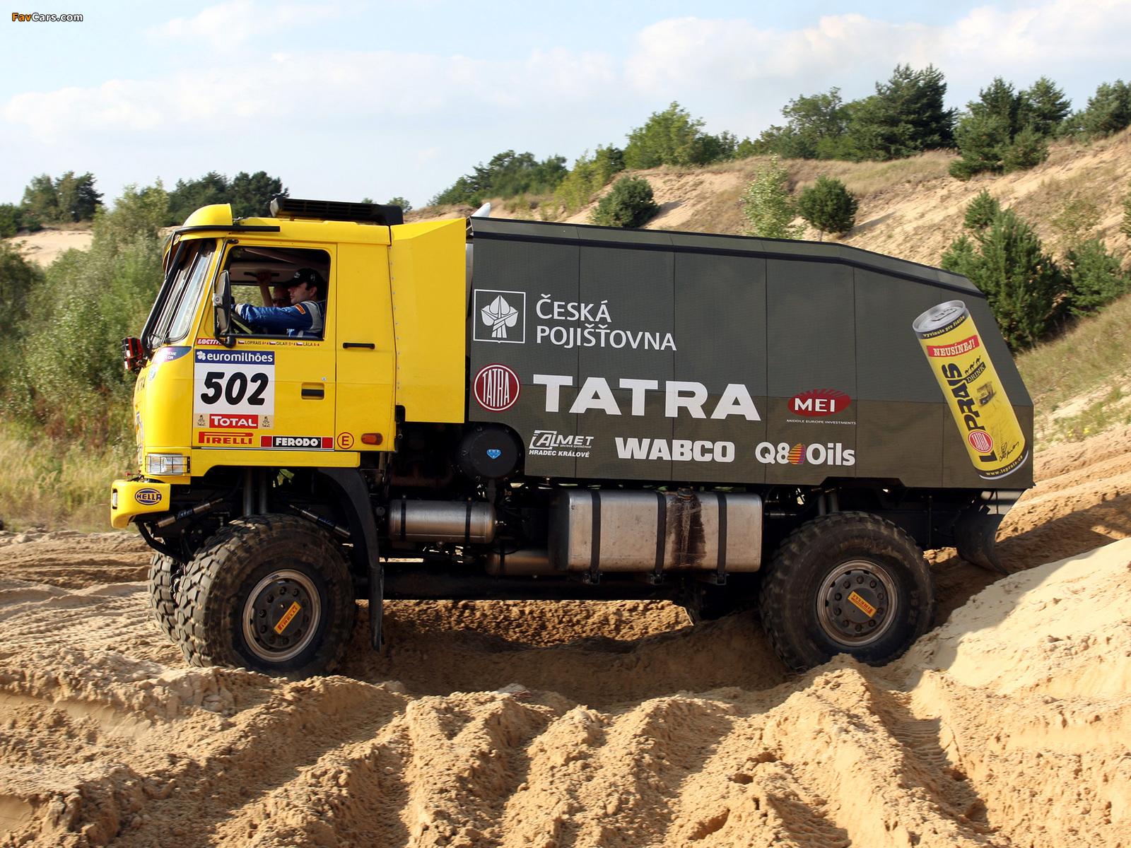 Images of Tatra T815 4x4 Rally Truck 2007–08 (1600 x 1200)