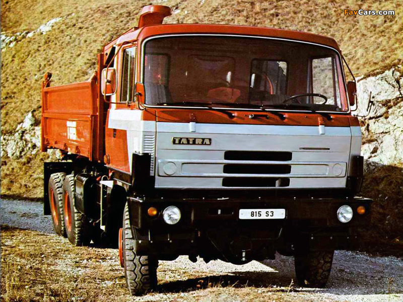 Photos of Tatra T815 S3 1982–94 (800 x 600)