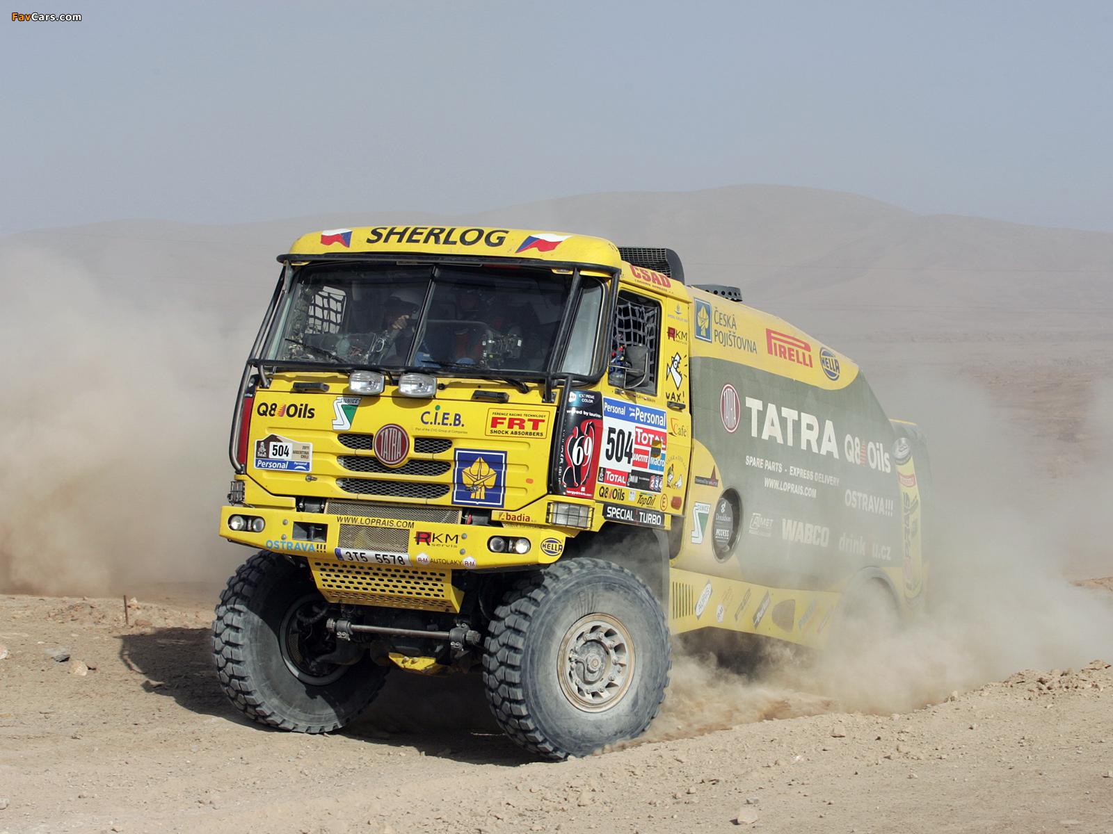 Photos of Tatra T815 4x4 Rally Truck 2010–11 (1600 x 1200)