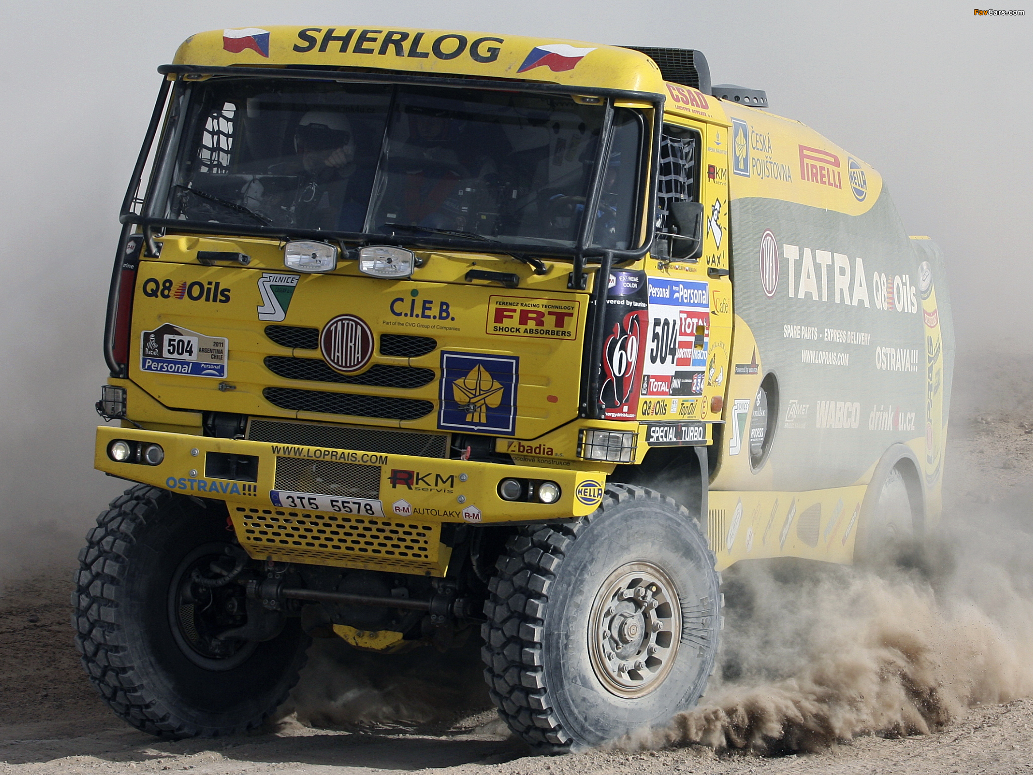 Pictures of Tatra T815 4x4 Rally Truck 2010–11 (2048 x 1536)