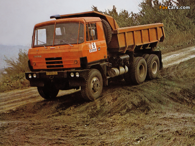 Tatra T815 S1 6x6 1982–94 photos (640 x 480)