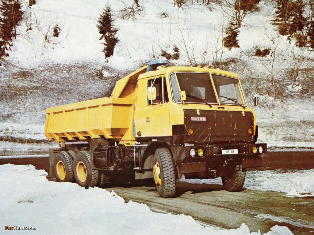 Tatra T815 S1A 6x6 1982–94 photos (1024 x 768)