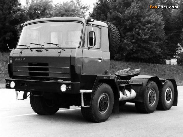 Tatra T815 NTH 22.235 6x6 1982–94 pictures (640 x 480)