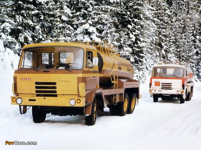 Tatra T815 P13 CAV-11 6x6 1982–94 pictures (640 x 480)