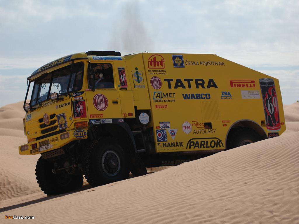 Tatra T815 4x4 Rally Truck 2006–07 images (1024 x 768)