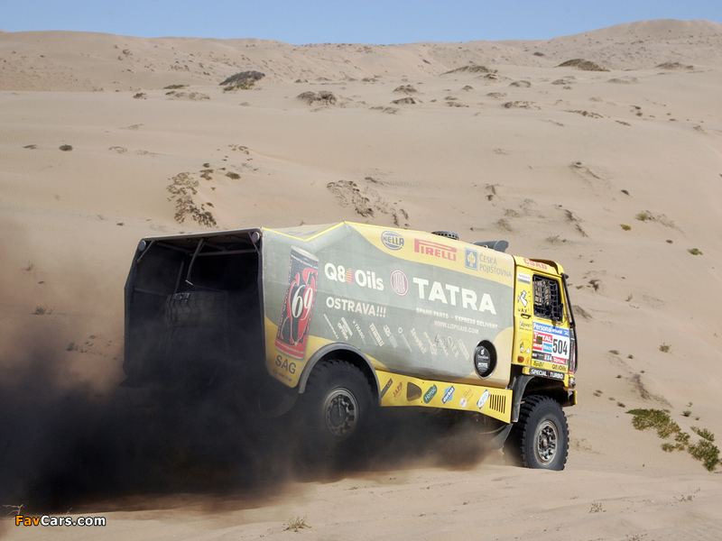 Tatra T815 4x4 Rally Truck 2010–11 photos (800 x 600)