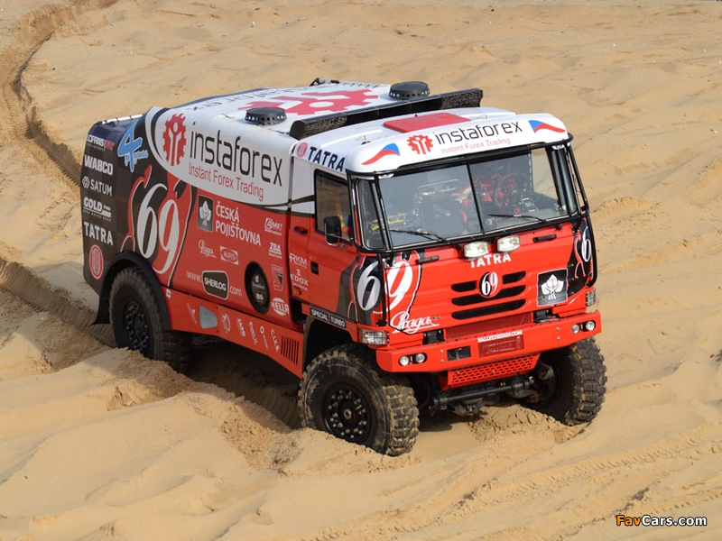 Tatra T815 4x4 Rally Truck 2010–11 pictures (800 x 600)