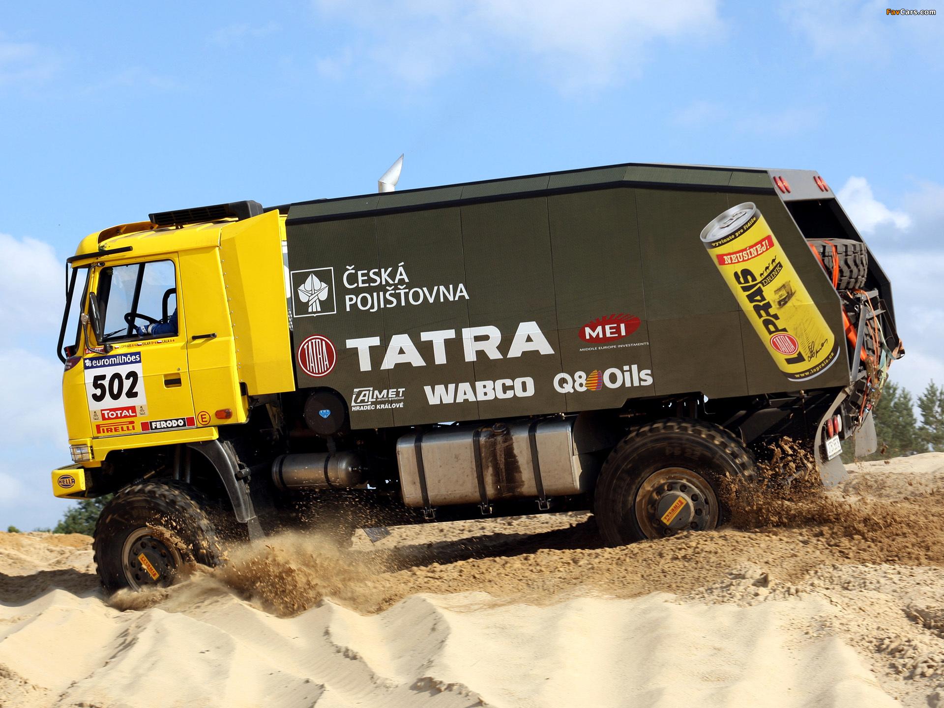 Tatra T815 4x4 Rally Truck 2007–08 wallpapers (1920 x 1440)