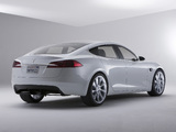 Images of Tesla Model S Concept 2009